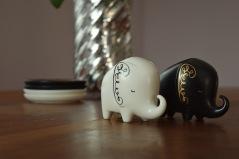 Lovely Elephant Salt & Pepper Shakers