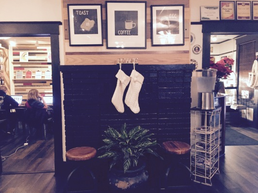 The Fireplace at Foxy Loxy
