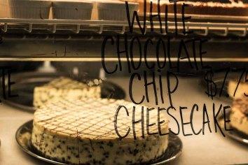 White Chocolate Chip Cheesecake